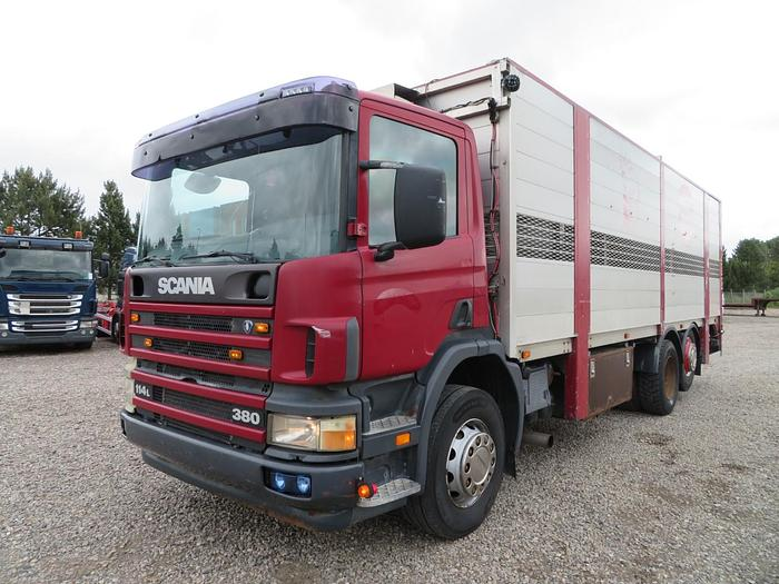 God 2003 Scania 114 380 6x2*4 Dyretransport
