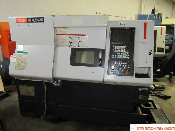 2005 Mazak Quick Turn Nexus 200 CNC Turning