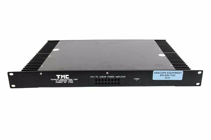 Used Technical Manufacturing Company LPA-70 Linear Power Amp 22-35594-01 Rev.A (4216)