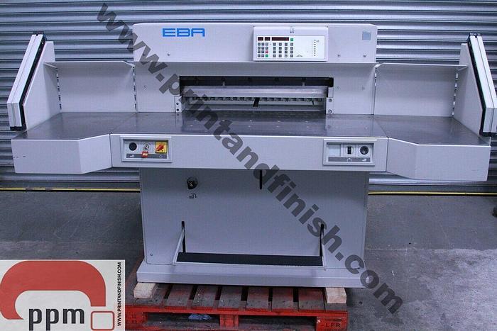 Used EBA 721 LT Paper Guillotine