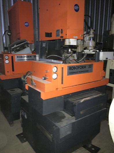 Used Charmilles Roboform 20 Ram Type EDM Machine
