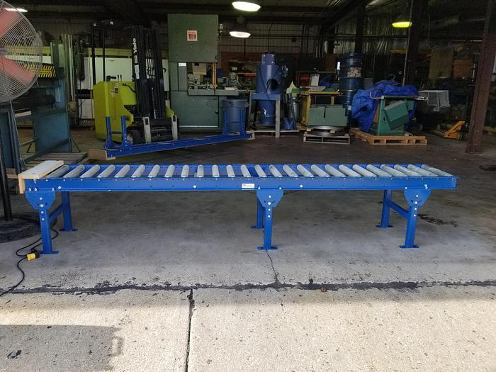 Used Versa 140' Roller Conveyor System