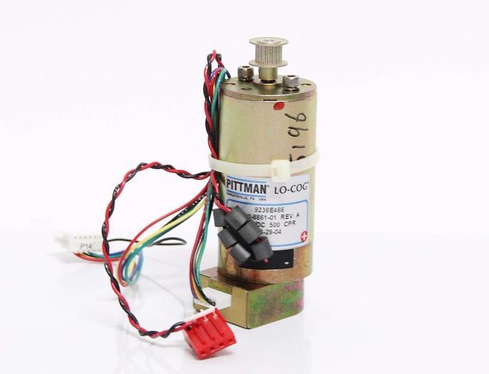Used Pittman Lo-Cog Motor 9236E466 9700-8861-01 Rev. A / Rev. 005 & Cables (4284)
