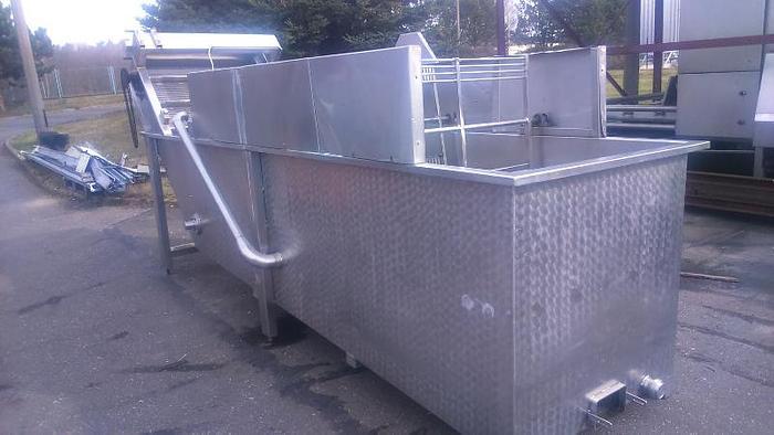 Używane Myjka wodno-powietrzna z motowidałmi TEN BRINK do mycia warzyw liściastych