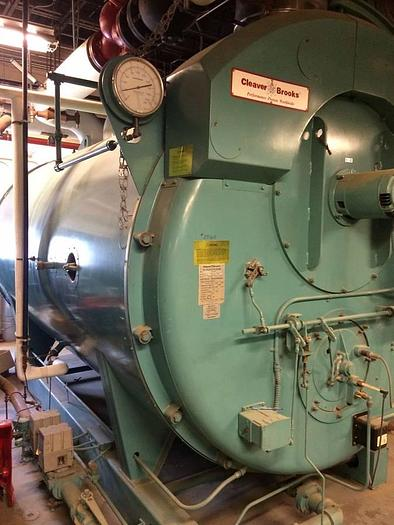 Used 2002  CLEAVER BROOKS PACKAGED BOILERS  CBI 700 240 125 CBI 700 240 125 Hot water