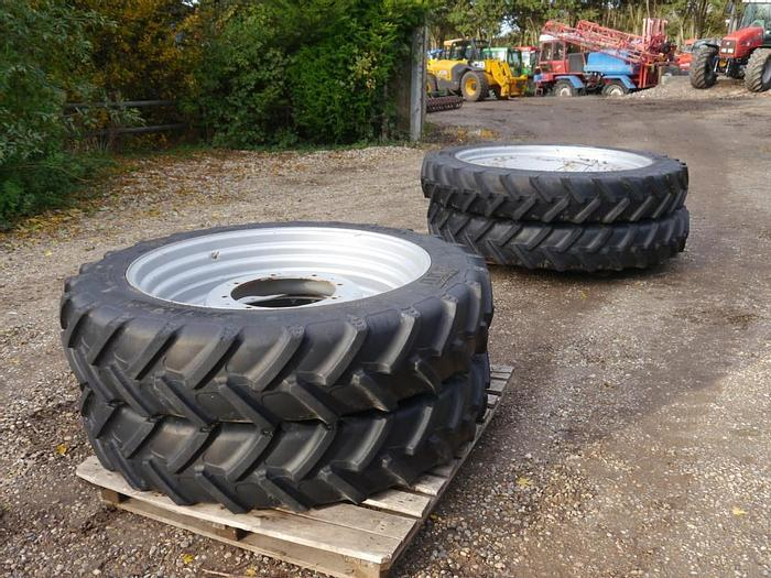 Used BKT Row Crop Wheels and Tyres