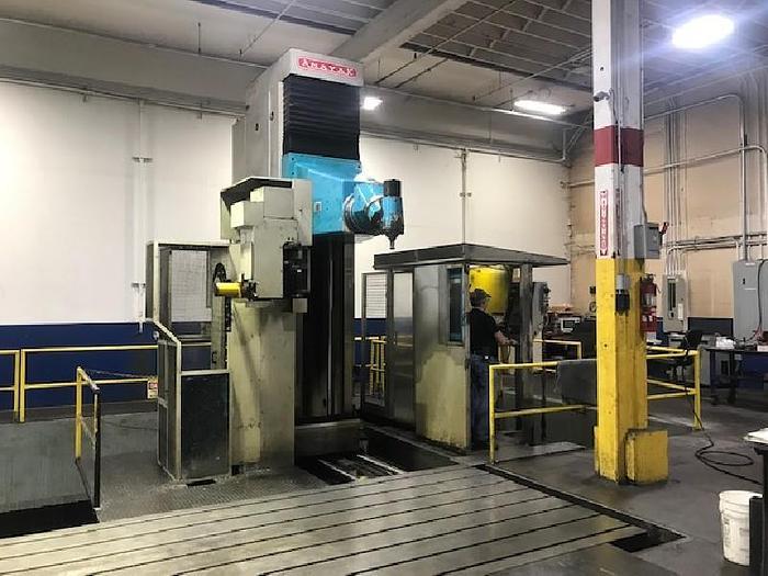 Used Anayak Nicolas Correa HVM-T-10000 CNC 5-Axis Travelling Column Mill