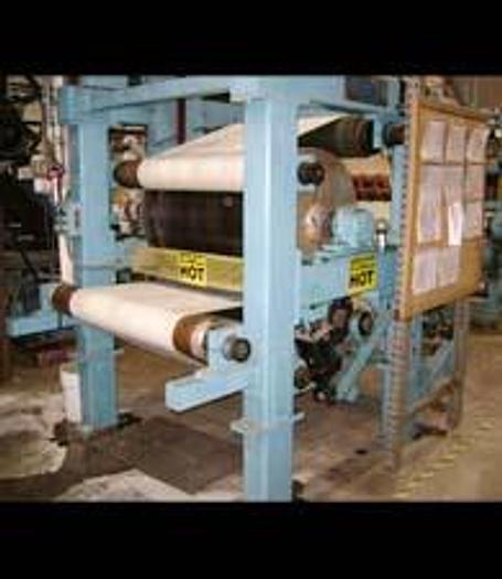 "Used KMW 41"" FACE X 32"" DIA STEAM HEATED FELTED DRYER"