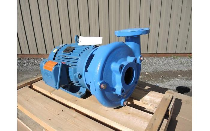 "Used USED GOULDS CENTRIFUGAL PUMP, 3"" X 2.5"" INLET & OUTLET, CAST IRON"