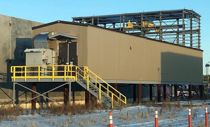 Siemens 34.5 kV GIS Switchgear & Building