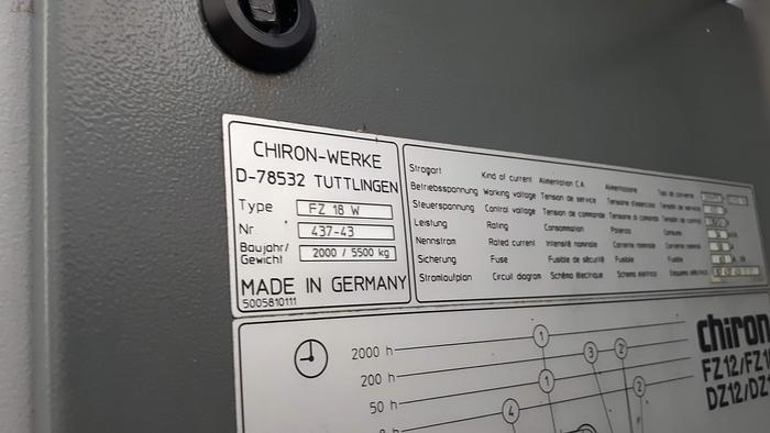 CHIRON FZ18W Magnum
