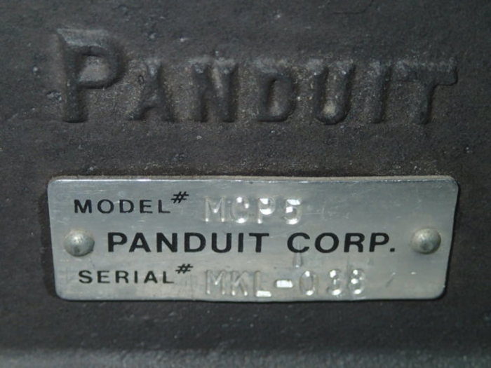 Panduit connector press MCP 5