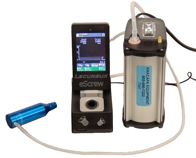 Used Lecureux Escrew Controller w/ M-626E2 Motor SP 302 SA-V Diaphragm Pump (7347)R