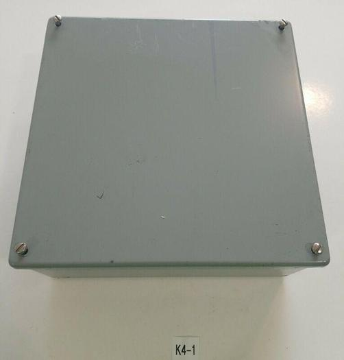 """Used *PREOWNED* Hoffman A-1010SC Electrical Enclosure 10"""" x 10"""" x 4"""" + FAST SHIPPING!"""