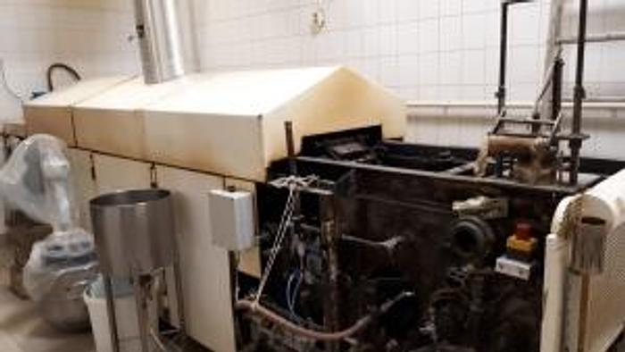 Used STEINHOFF ROLLED WAFER OVEN - for sticks, cups and cones