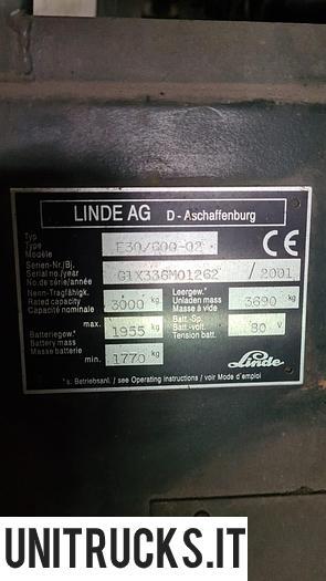 Usata 2002 LINDE E30-600