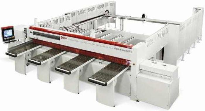 Used SCM Group SCM Impact 90 Automatic Beam Saw Machines