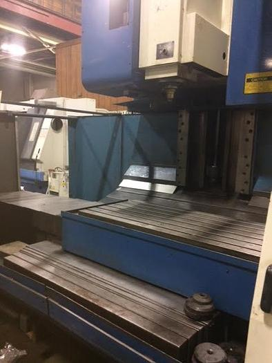SUPERMAX MAX 8 GEARED HEAD VERTICAL MACHINING CENTER WITH FANUC OM CONTROL