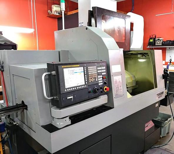 2015 TSUGAMI S-205 CNC 6 AXIS SWISS-TURN WITH LIVE MILLING