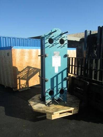 TRANTER SUPERCHANGER SS HEAT EXCHANGER MODEL M15 - FFM 380 SQ. FT 100 PSI