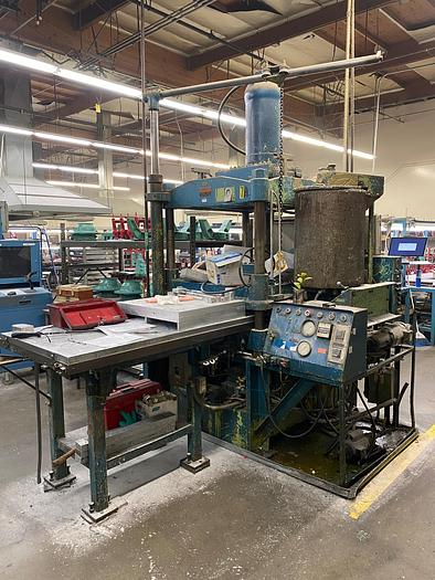 LEYDON 100 TON WAX INJECTION PRESS (On Hold)