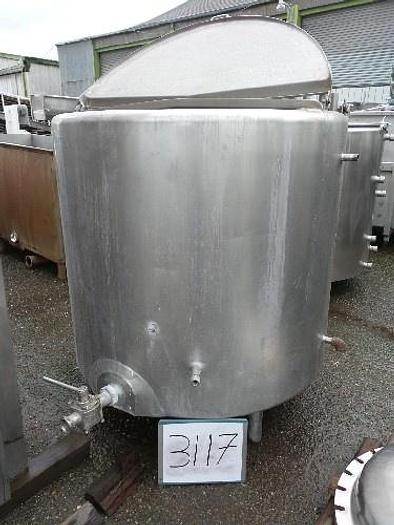 350 Gallon Jacketed Tank #3117