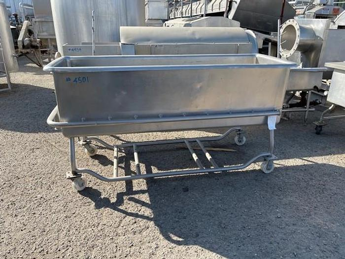 Used 100 Gallon Stainless Steel COP Tank