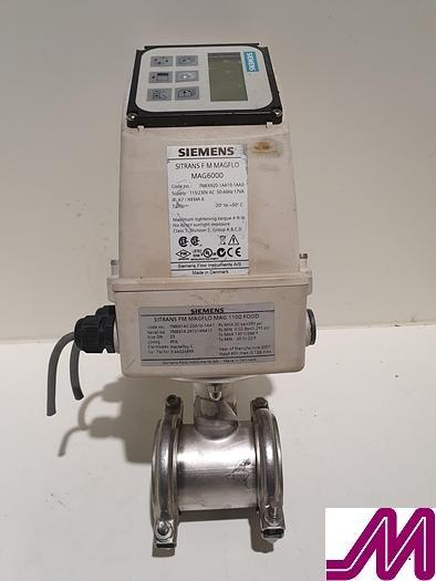 Used Siemens  SITRANS F M Magflow MAG600 Flow Meter
