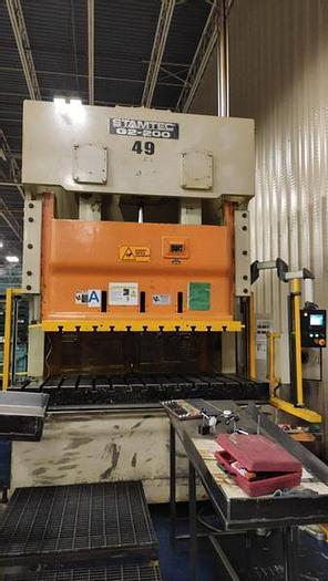 Used 200 ton Stamtec 2pt. Gap