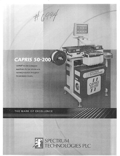 SPECTRUM TECH C50-200, 2002