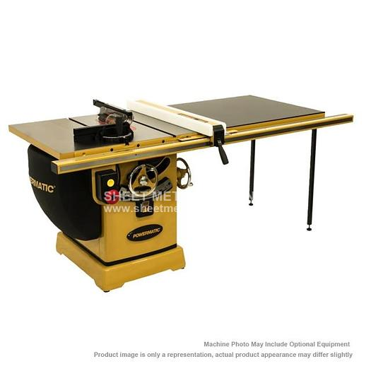 "POWERMATIC PM2000 Tablesaw 3HP 1PH 230V 50"" Accu-Fence System PM23150K"