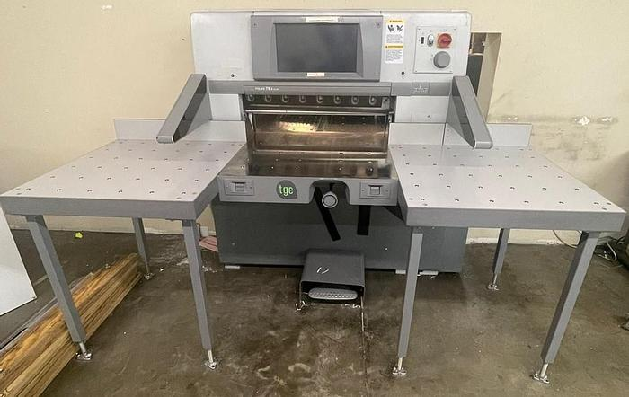 Used Polar 78X Plus, Touch Screen, 2012
