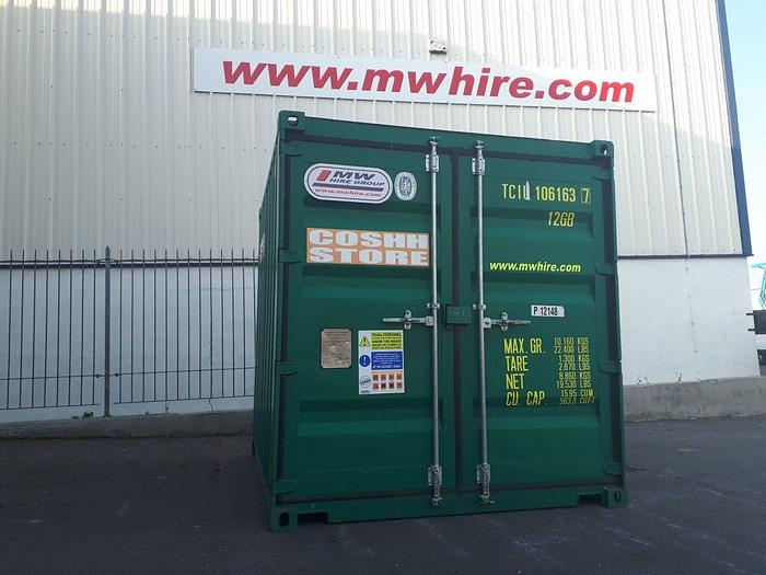 Used COSHH Store – 10ft