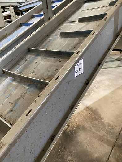 Used Steel Elevator 7m L 0.7m W