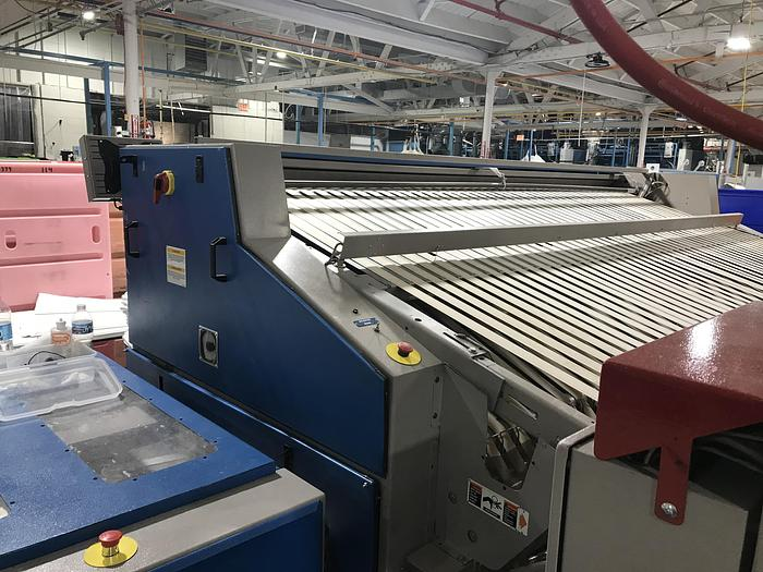 "2011 CHICAGO FOLDER, 136"", 5 LANE WITH ACCUMULATOR AND STACKER"