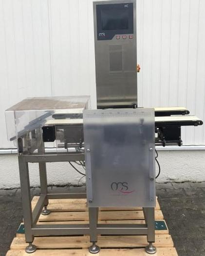 Used R 12302 D - Checkweigher OCS HC - 750 g - Twin Lane
