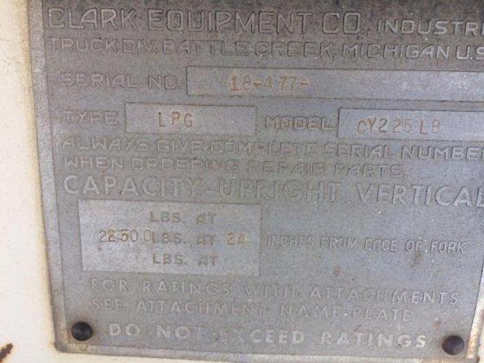 CLARK CY225