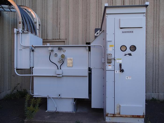 Used 1500 KVA SIEMENS-ALLIS TRANSFORMER SUBSTATION 480V/277