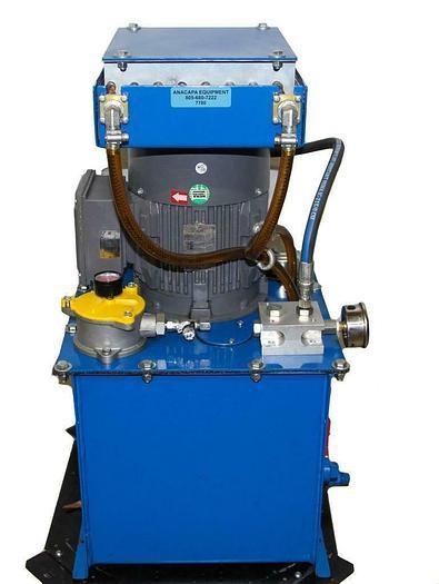 Used Unbranded Hydraulic Pump W/ Techtop Three Phase Motor Working (7780) W