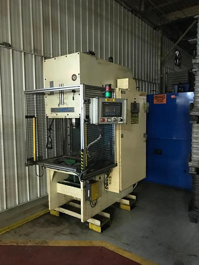 Used 75 TON NEFF C-FRAME HYDRAULIC PRESS