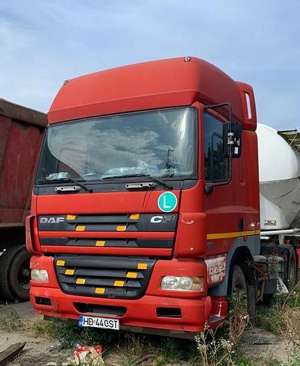 Gebruikt 2006 DAF 85 CF 430 , euro 3, MANUAL, 6X4 FULL STEEL