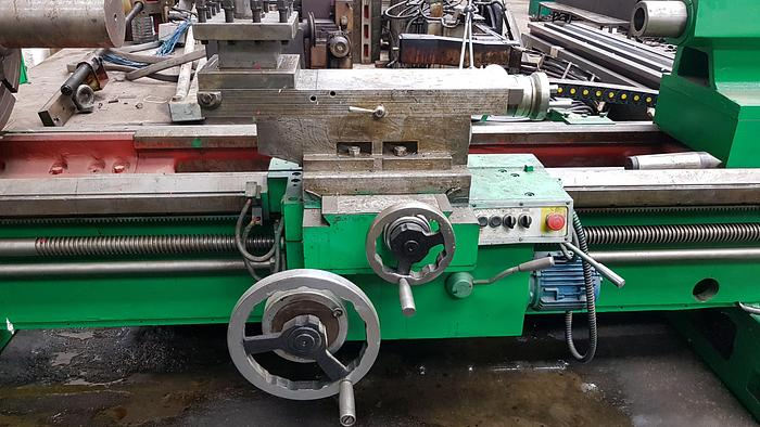 """1985 Hollow Spindle Oil Country Lathe SARO SBF 10 3/8 """"710X2000"""
