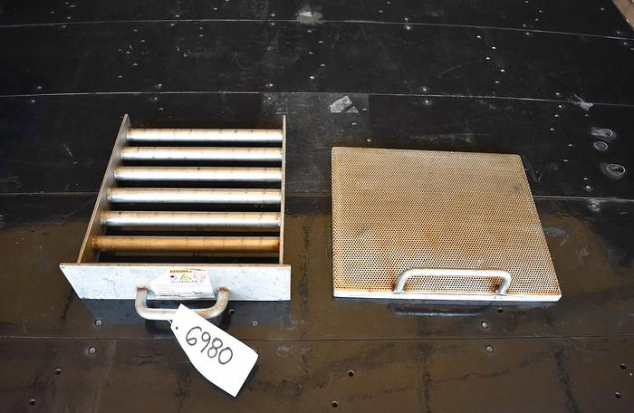 Used USED 12'' X 14'' STAINLESS STEEL MAGNETIC GRATE & SCREEN