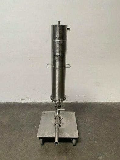 Used Millipore 316L Stainless Steel 75 PSI Filter Housing Cat# CES9519