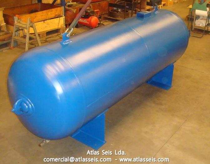 Termojet Air Pressure Vessel / 30 Bar / 1000 L