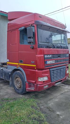 2003 DAF 95 xf 430 euro 3 manual