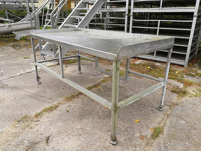 Używane Table with sides - stainless