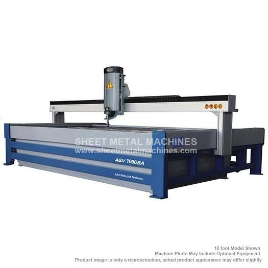 A&V WATERJET 8' x 4' Cutting Table AV0804
