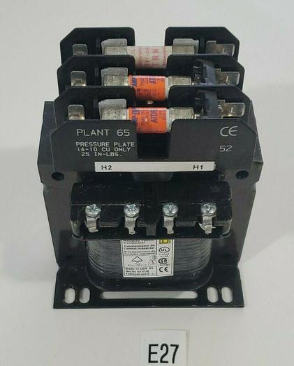 Used *PREOWNED* Square D 9070TF150D3 Transformer 0.15 kVA 50/60Hz + Fuses & Warranty!