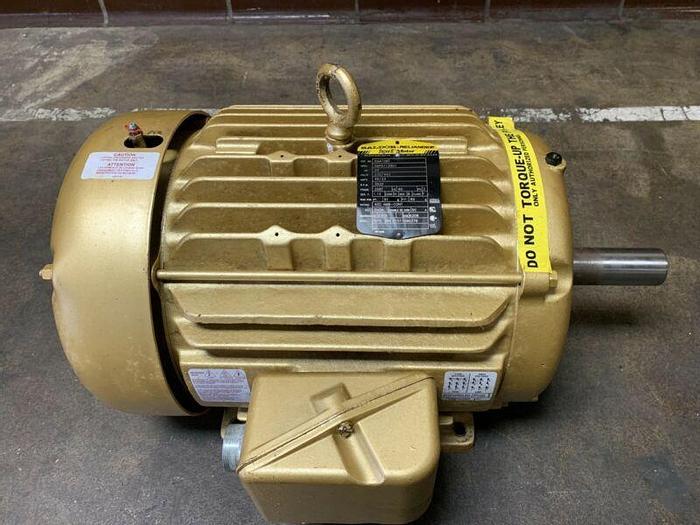 Used Baldor Reliance 230/460V 3540RPM 20HP Frame256T Super-E Motor EM4106T *Warranty*
